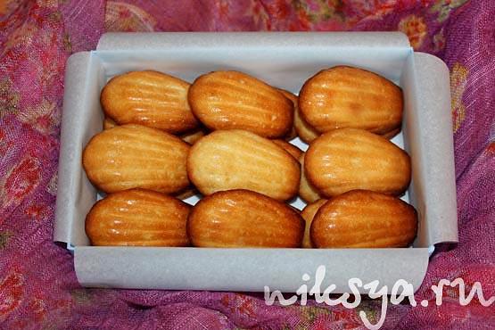 Знаменитое франузское печенье Мадлен