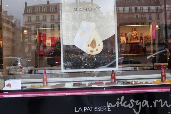 Витрина кондитерской Fauchon в Париже