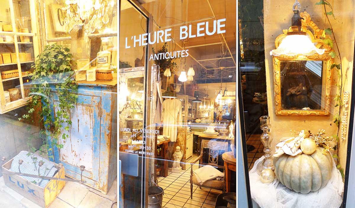 Антикварный бутик L'Heure Bleue