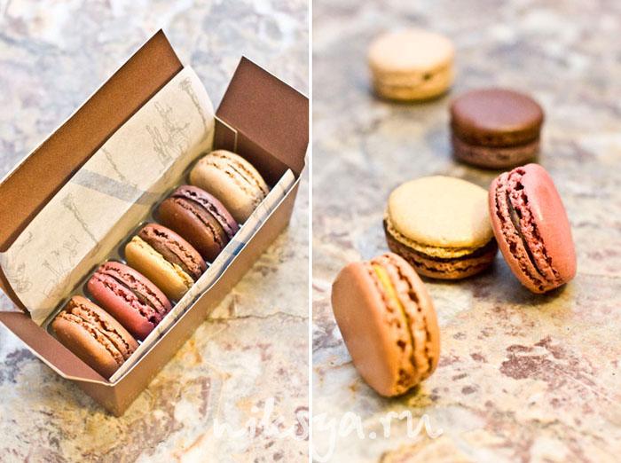 Macarons от кондитера Jean-Paul Hevin в Париже