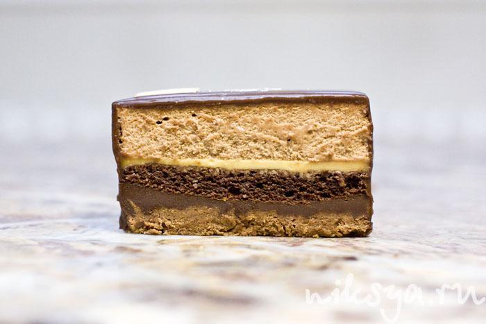 Пироженое Marquise от кондитера Жана Поля Эвина