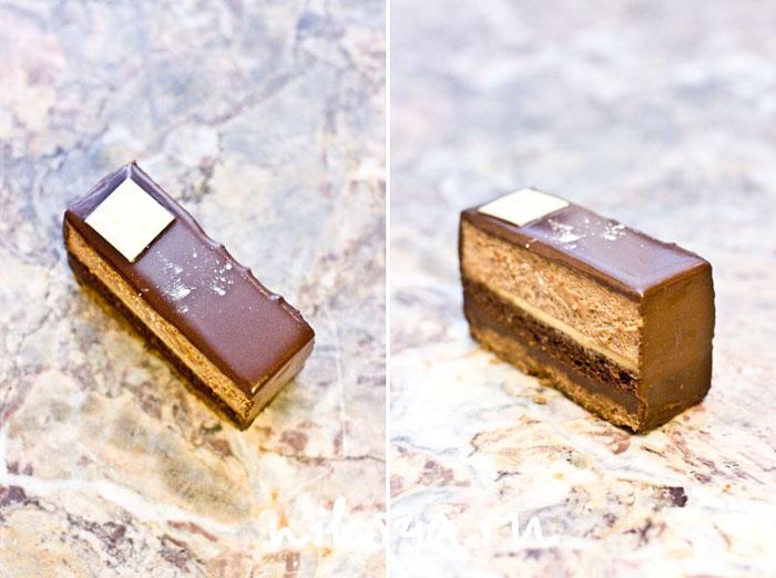 Пироженое Marquise от кондитера Jean-Paul Hevin