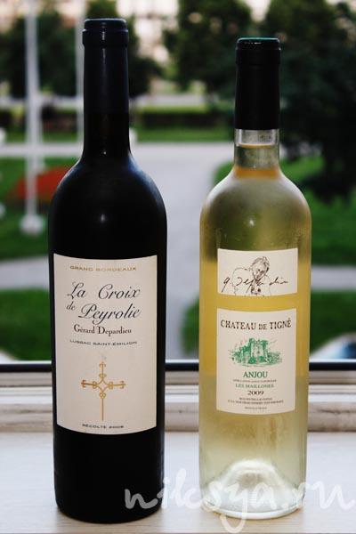 Бутылки вина от Жерара Депардье