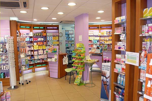 Интерьер французской аптеки