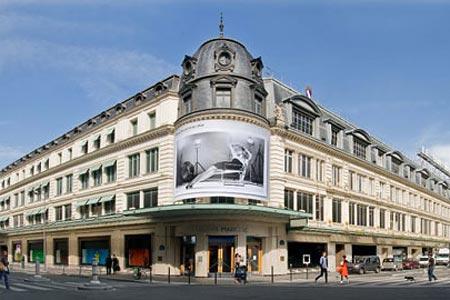 Старейший парижский универмаг Le Bon Marche
