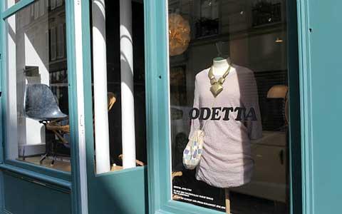 Бутик винтаж Одетта в Париже