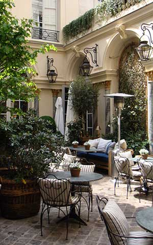 Бутик-ресторан Ральфа Лорена в Париже