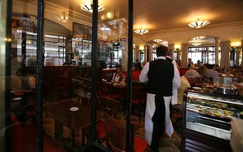 Cafe de Flore в Париже
