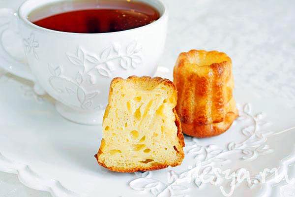 Пирожное каннеле по рецепту от шеф-повара Жоэля Робюшона (Joel Robuchon)