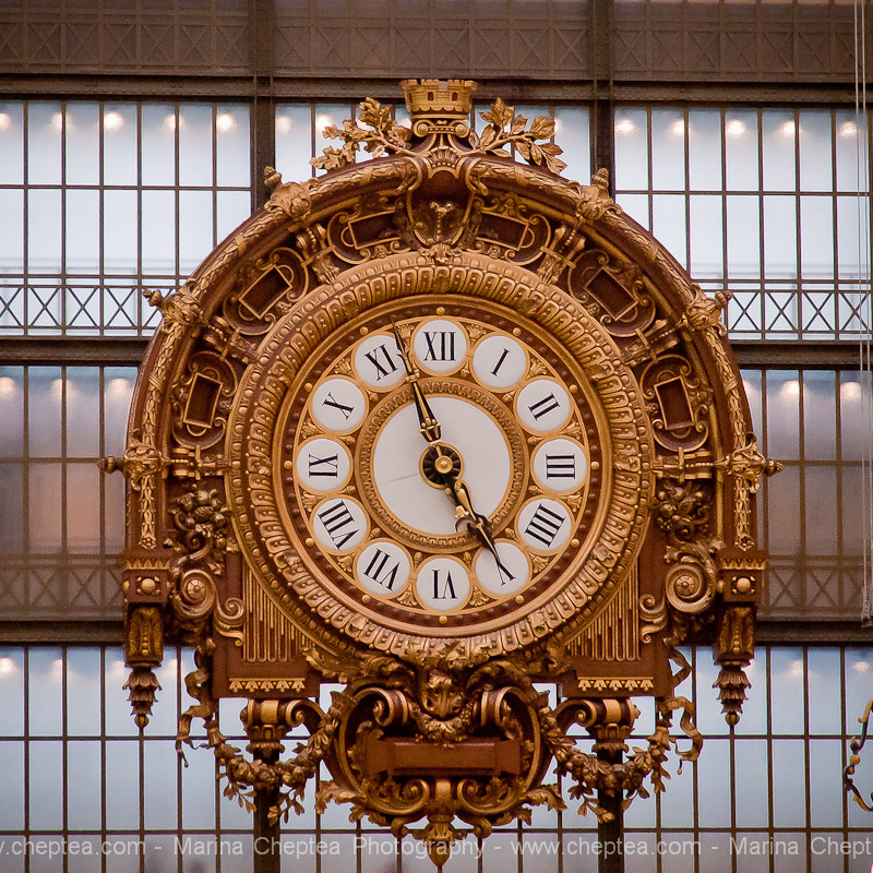 Часы в музее д'Орсе, Musee d'Orsay