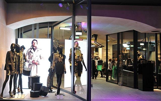 флагманский магазин H&M Париж Елисейские Поля