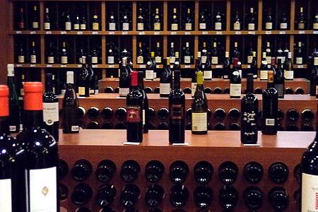 Большая Парижская Бакалея (Grande Epicerie de Paris) отдел вин и спиртных напитков