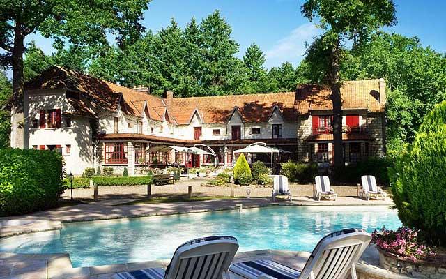 Отель-шарм Hostellerie du Lys в Шантийи