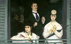 Le balcon de Edouard Manet