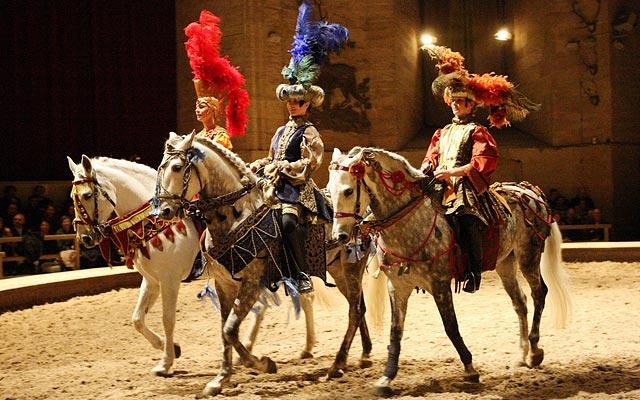 Живой Музей Лошади в Шантийи