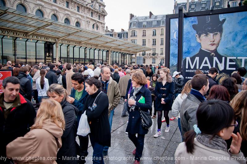 Вход в музей д'Орсе, Musee d'Orsay