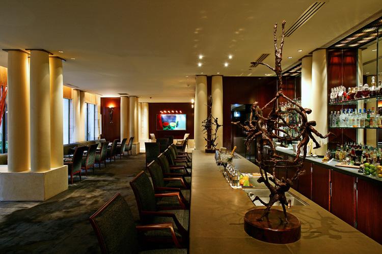 Ресторан гастрономической кухни Террасе Park Hyatt