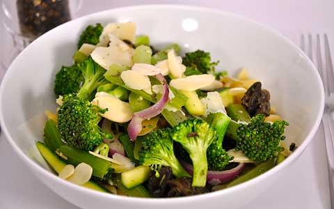 Паста с броколи