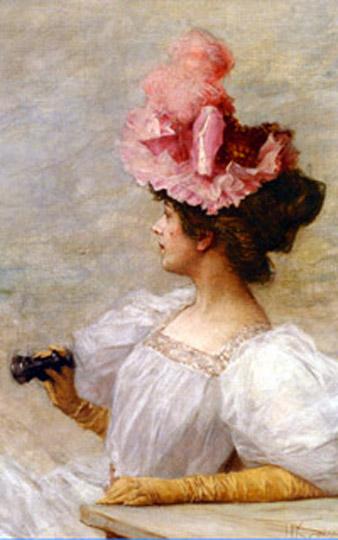 В начале XIX века в Англии существовал целый « перчаточный этикет»