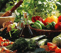Фото набора продуктов для здорового питания