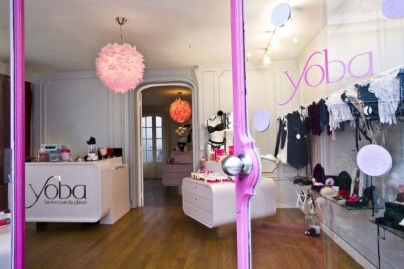 секс-шоп Yoba в Париже